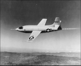 "Celestis participant Benson Hamlin helped design the famous Bell X-1 in which Captain Charles ""Chuck"" Yeager broke the sound barrier on October 14, 1947."